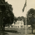 Summerfields House - flagpole