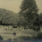 Headmaster's garden party 1911 or 1912