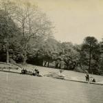 Summerfields House - boys on terrace