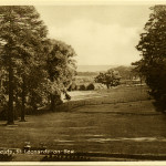 Summerfields House - view from terrace