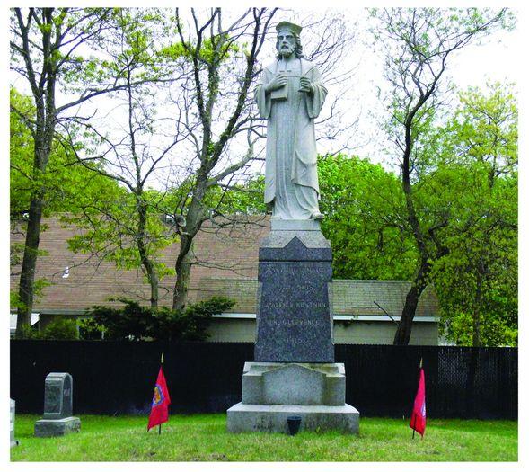 The Statue of Jan Hus (Bohemian Martyr)