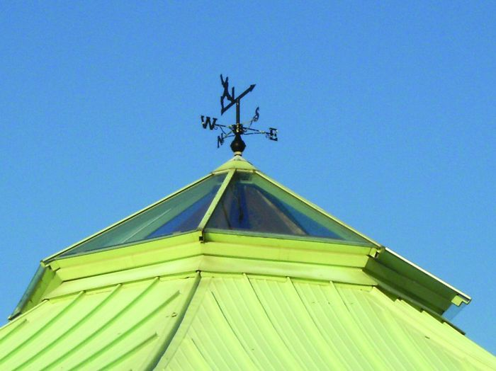 Where is this weathervane found?