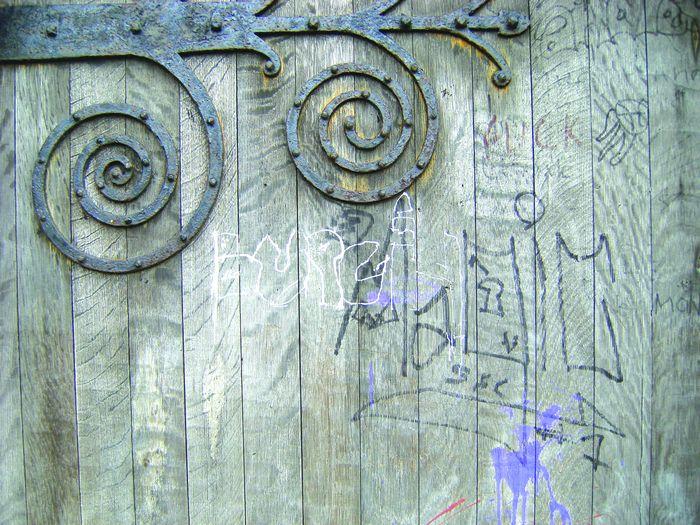 More vandalism to St Peters