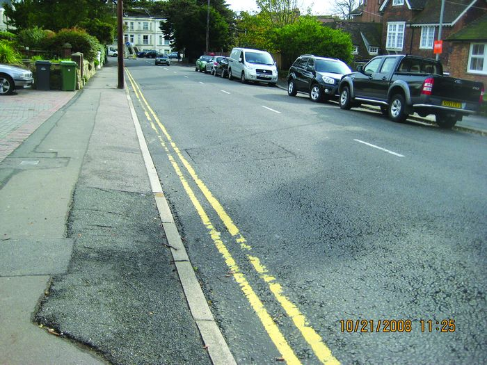 A clean Springfield Road  photo from WYG report
