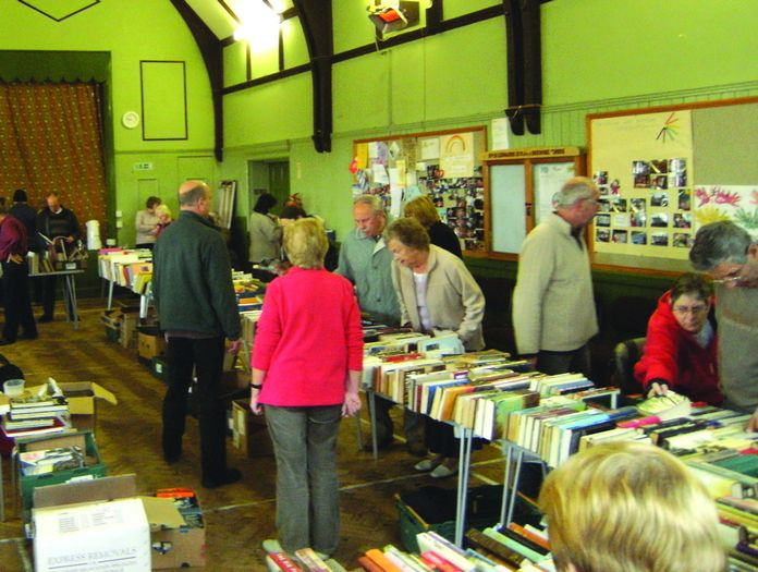 Busy book fayre at St Peters in March