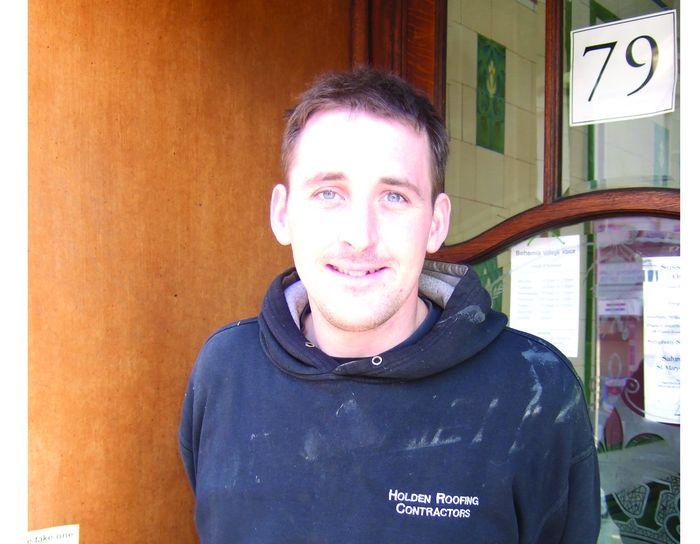 Gavin Holden of Holden Roofing