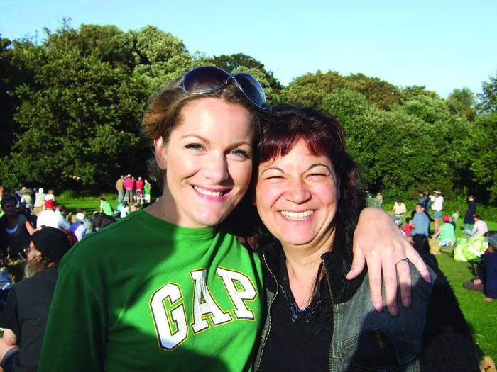 Georgina and friend
