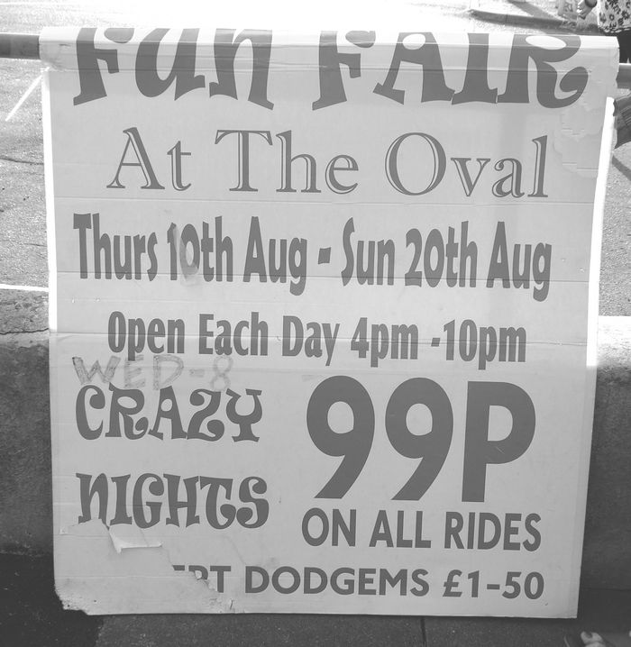 Crazy nights 99p on all rides