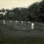 Summerfields. Cricket nets, 1910-12