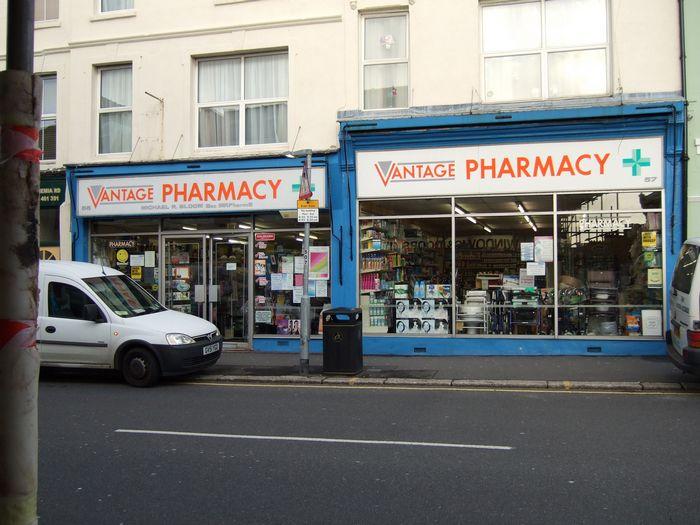 Vantage Pharmacy.