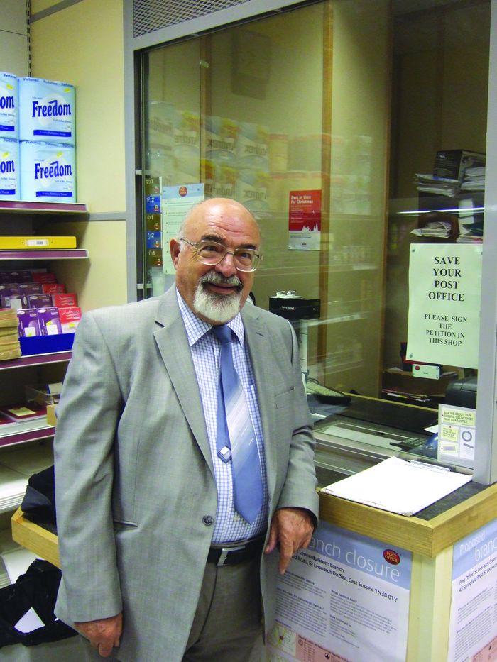 Herculean task for postmaster Kyracos Korniotis