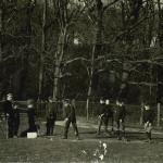 Summerfields - playing golf. 1910-12.