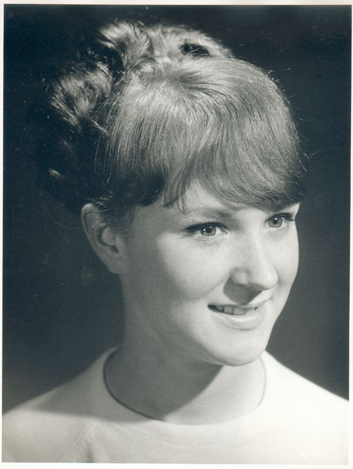 Vivienne as a young woman of 20.