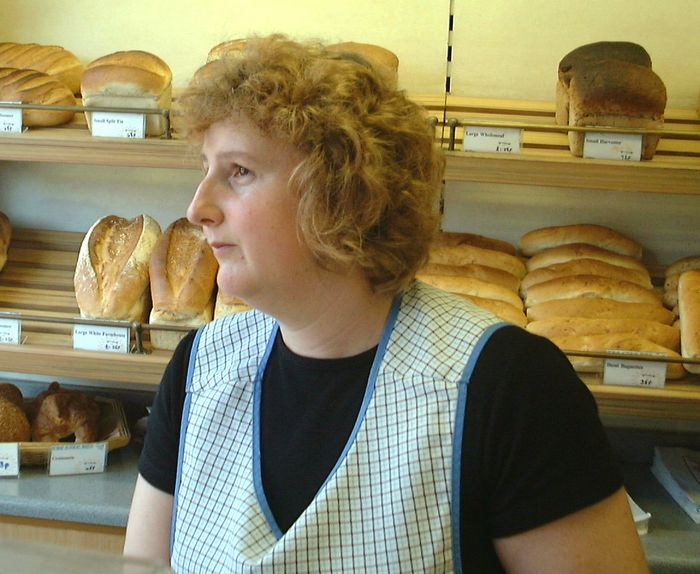 New Cake Box owner Vivienne pictured Thursday of this week.