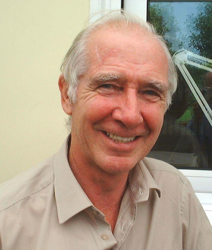 Ken Brooks, at home, last week.
