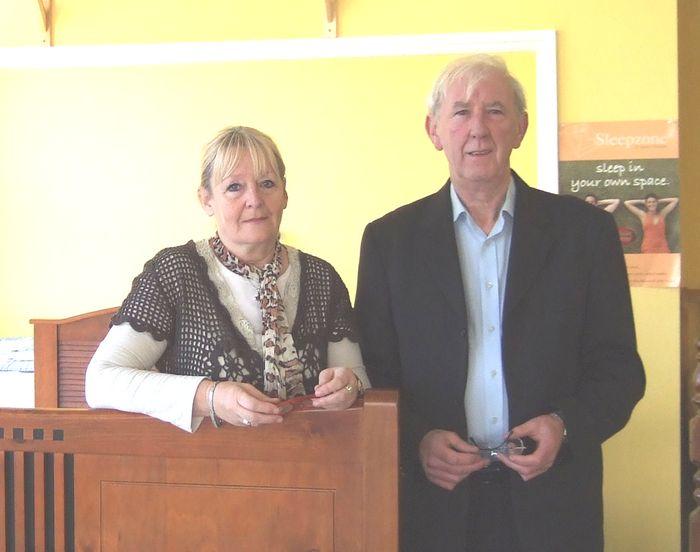 Rose Harding and Don Nolan