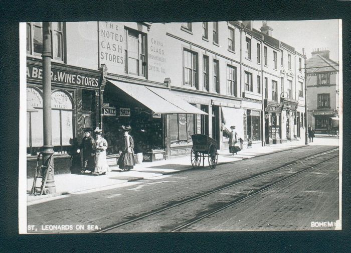 Bohemia Road in the last century, shows a wide range of businesses operating. Photo courtesy of Colin Green, Empress Art.