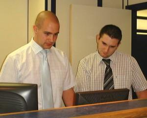 Adam left, and Dan at Bet Bet Bet