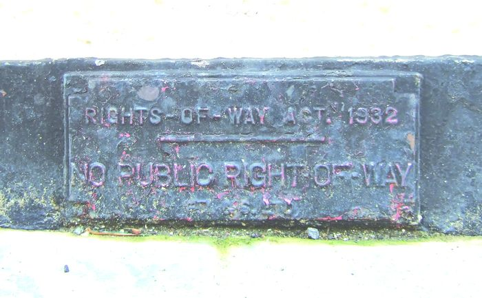 Rights of Way act