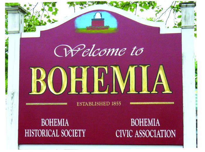 Bohemia, NY, established 1855