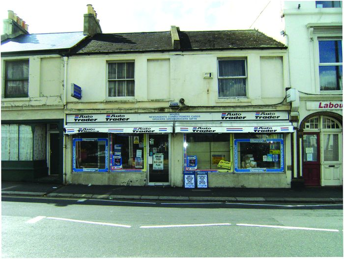 Shop with 4-bed living accommodation goes to auction