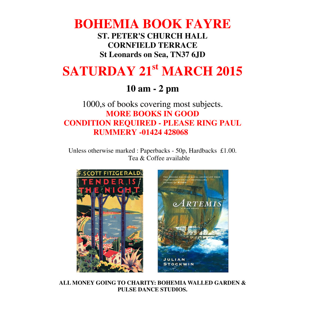 Bohemia Book Fayre 2015
