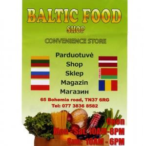 Baltic Food Shop, Bohemia Road