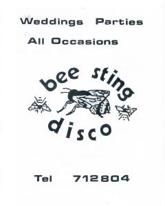 Bee Sting Disco