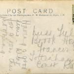 5. Reverse of 4. Franked 5 Jul 1911.
