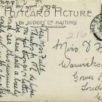 Reverse of 8. Franked 2 Dec 1914