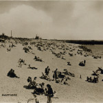 The Beach, Hastings Postcard, about 1910.