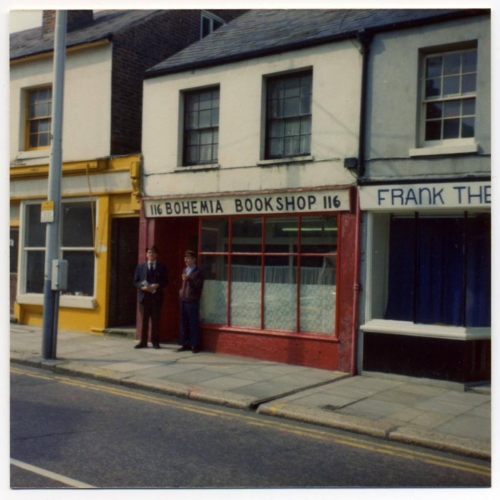 Bohemia Bookshop, Aubrey Budd & Frank Letchford (1977)