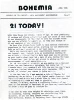 Bohemia 21 (June 1986)