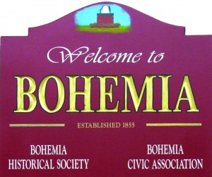 Bohemia Town Sign, New York