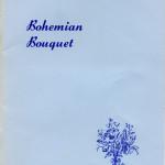 Bohemian Bouquet booklet published 1980 by The Bohemias