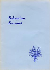 Bohemian Bouquet booklet published about 1980 by The Bohemians