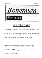 Bohemian Newsmag 71 (Autumn 1998)