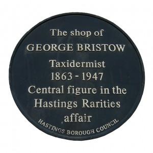 Bristow plaque