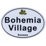 Bohemia Village Car Sticker