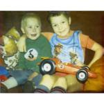Edward & Michael Hudson 1976
