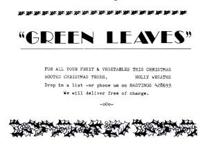 Green Leaves Dec 1986
