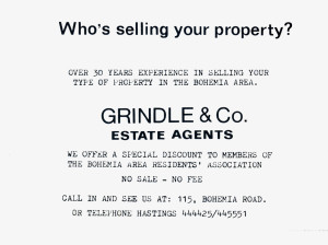 Grindle & Co (advert June 1987)