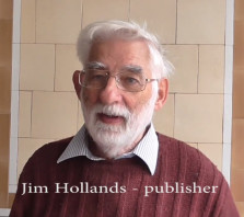 "Jim Hollands - publisher of ""Hastings Town"""