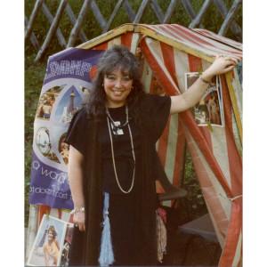 June Hudson Fortune Teller 1982