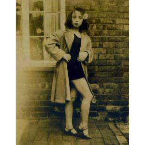 June Hudson aged 14