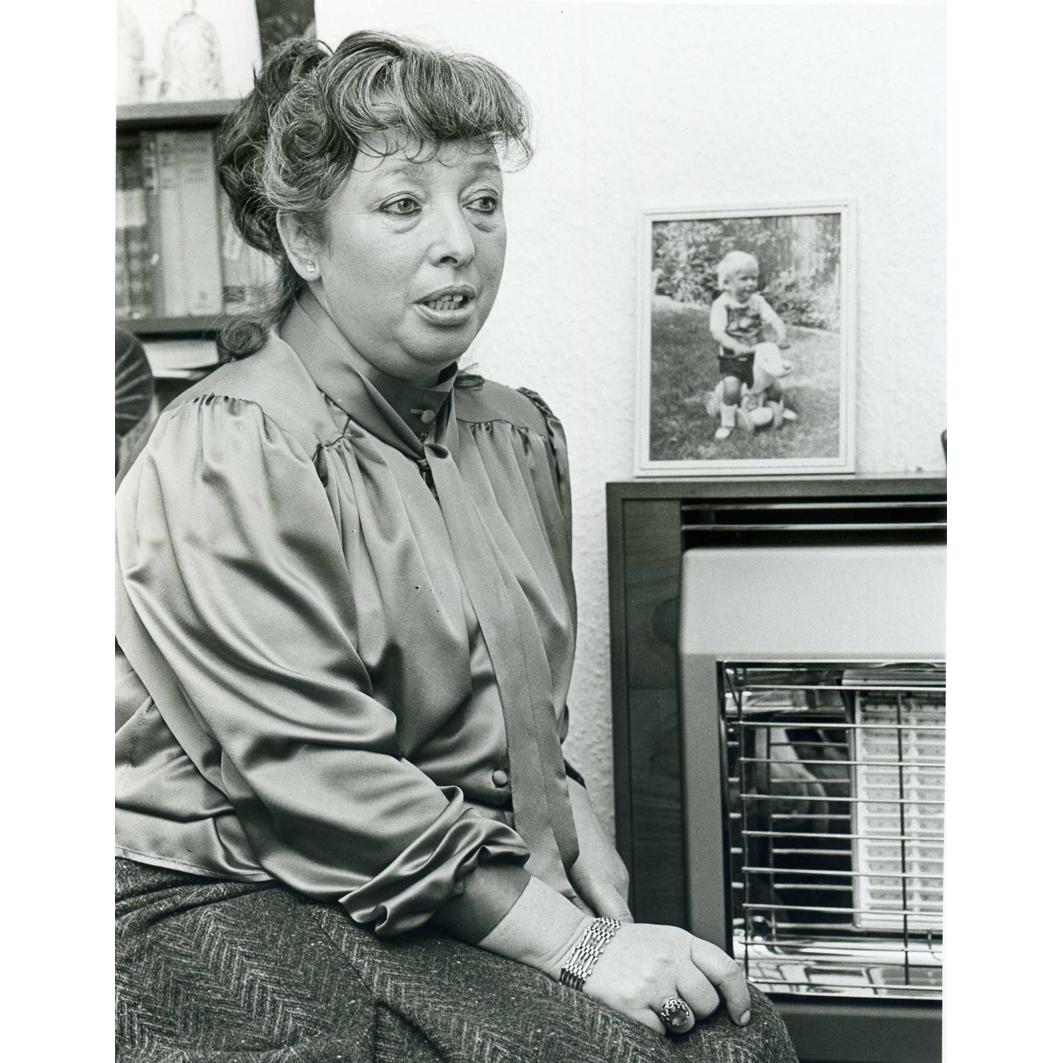 June Hudson &  photo of Edward