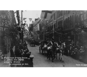 King's Road, 1908. Visit by Lord Mayor of London
