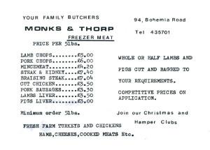 Monks & Thorpe