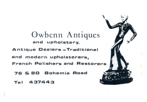 Owbenn Antiques (advert June 1987)