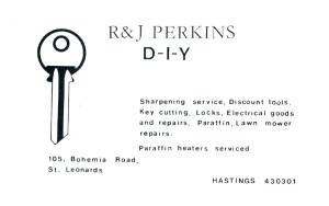 R & J Perkins (advert June 1987)
